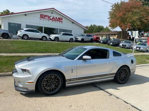 2014 Ford Shelby GT500 for sale at Efkamp Auto Sales LLC in Des Moines IA