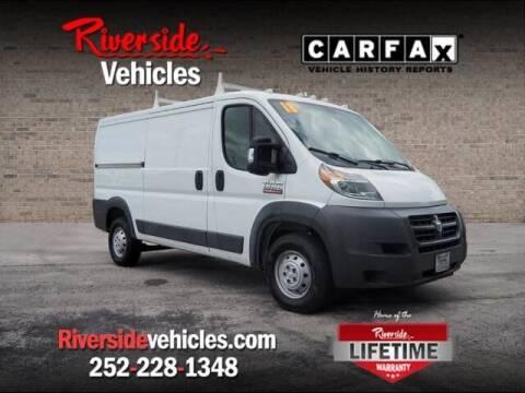 2018 RAM ProMaster Cargo for sale at Riverside Mitsubishi(New Bern Auto Mart) in New Bern NC