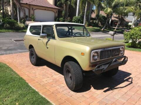 1974 International Scout for sale at Classic Car Deals in Cadillac MI