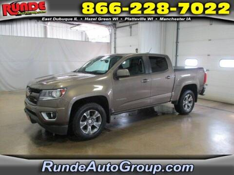 2016 Chevrolet Colorado for sale at Runde PreDriven in Hazel Green WI