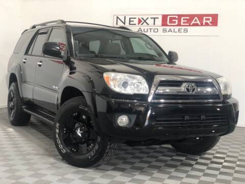 2006 Toyota 4Runner for sale at Next Gear Auto Sales in Westfield IN