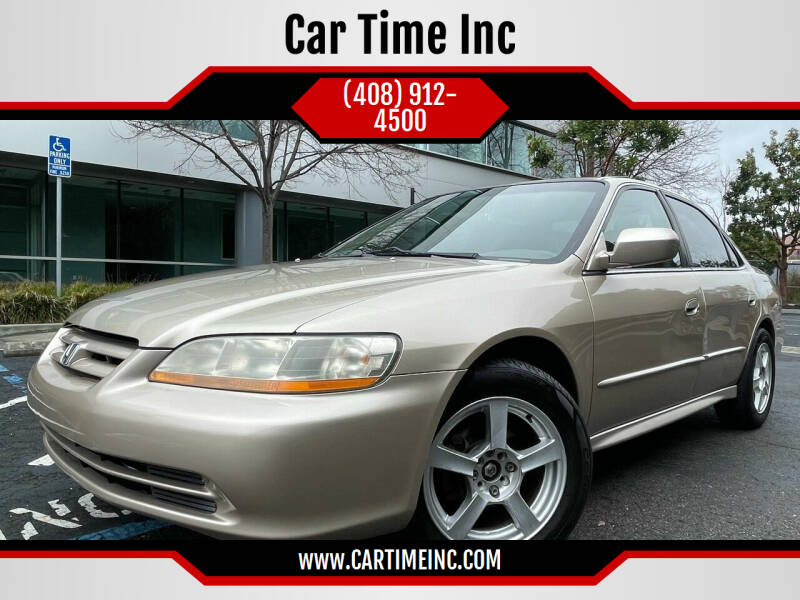 2001 Honda Accord for sale at Car Time Inc in San Jose CA