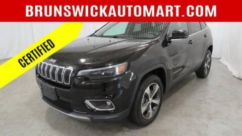 2019 Jeep Cherokee for sale at Brunswick Auto Mart in Brunswick OH