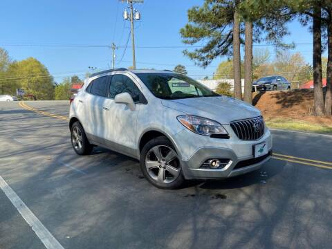 2013 Buick Encore for sale at THE AUTO FINDERS in Durham NC