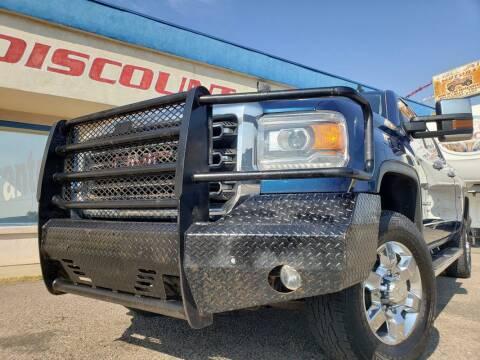 2015 GMC Sierra 2500HD for sale at Discount Motors in Pueblo CO