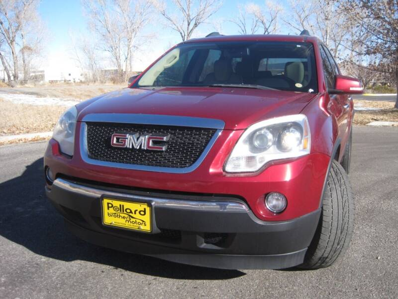 2011 GMC Acadia for sale at Pollard Brothers Motors in Montrose CO