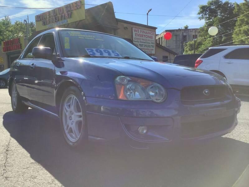 2004 Subaru Impreza for sale at Active Auto Sales Inc in Philadelphia PA