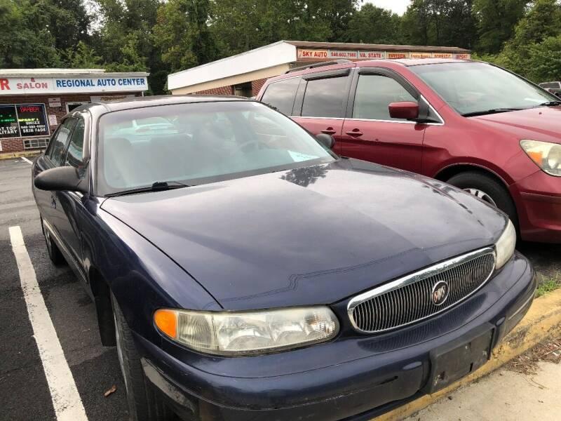 1998 Buick Century for sale at REGIONAL AUTO CENTER in Stafford VA