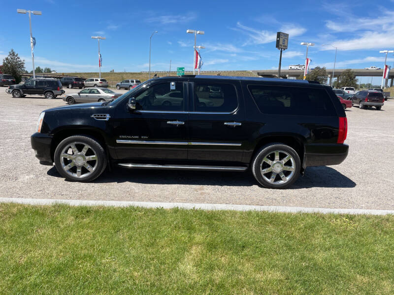 2007 Cadillac Escalade ESV for sale at GILES & JOHNSON AUTOMART in Idaho Falls ID