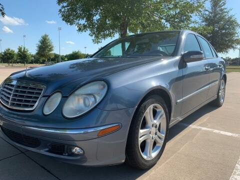 2005 Mercedes-Benz E-Class for sale at Driveline Auto Solution, LLC in Wylie TX