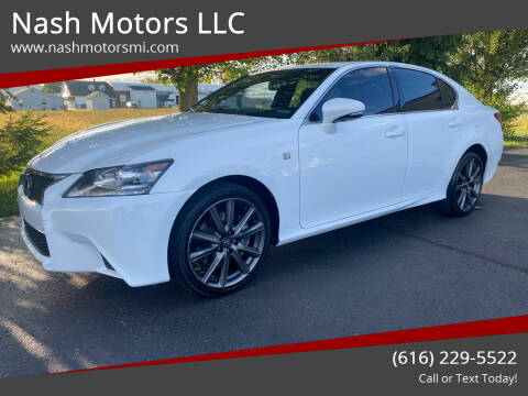 2015 Lexus GS 350 for sale at Nash Motors LLC in Hudsonville MI