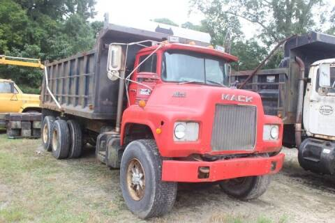 1984 Mack Dump Truck for sale at Vehicle Network - Davenport, Inc. in Plymouth NC