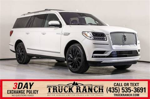 2020 Lincoln Navigator L for sale at Truck Ranch in American Fork UT