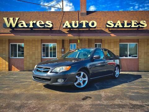 2009 Subaru Legacy for sale at Wares Auto Sales INC in Traverse City MI