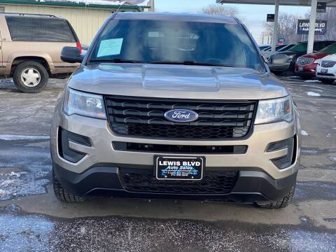 2016 Ford Explorer for sale at Lewis Blvd Auto Sales in Sioux City IA