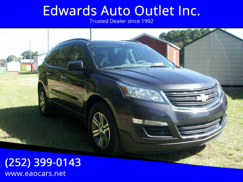 2017 Chevrolet Traverse for sale at Edwards Auto Outlet Inc. in Wilson NC
