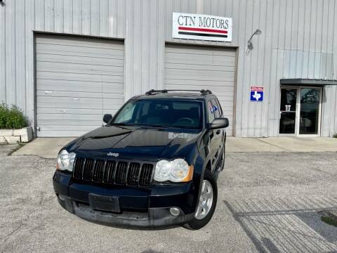 2010 Jeep Grand Cherokee for sale at CTN MOTORS in Houston TX