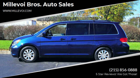 2010 Honda Odyssey for sale at Millevoi Bros. Auto Sales in Philadelphia PA