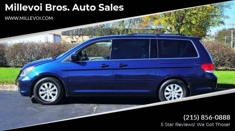 2010 Honda Odyssey for sale at Millevoi Bros. Auto Sales in Philadelphia PA