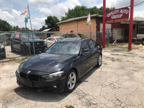 2013 BMW 3 Series for sale at Quality Auto Group in San Antonio TX
