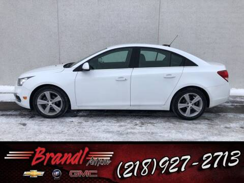 2015 Chevrolet Cruze for sale at Brandl GM in Aitkin MN