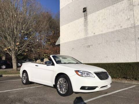 2014 Chrysler 200 Convertible for sale at Select Auto in Smithtown NY