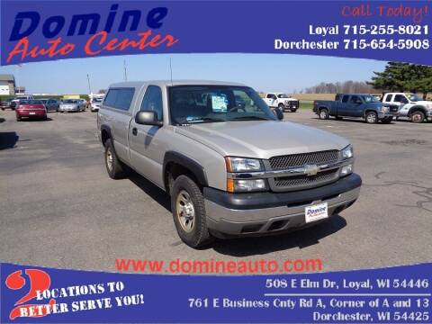 2005 Chevrolet Silverado 1500 for sale at Domine Auto Center in Loyal WI