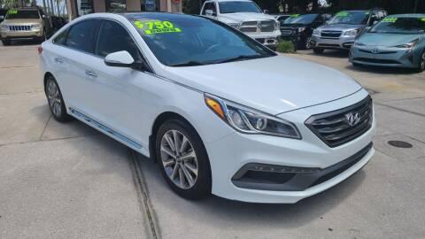 2016 Hyundai Sonata for sale at Dunn-Rite Auto Group in Longwood FL