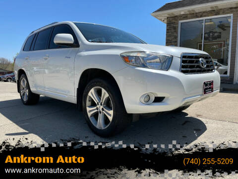 2008 Toyota Highlander for sale at Ankrom Auto in Cambridge OH