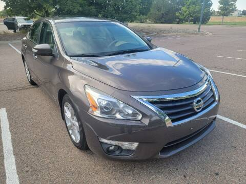 2015 Nissan Altima for sale at Red Rock's Autos in Denver CO