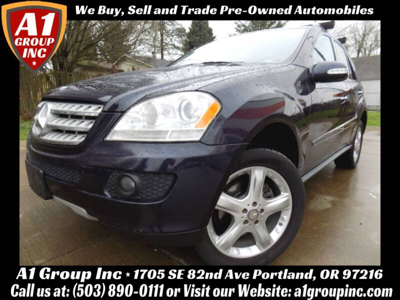 2008 Mercedes-Benz M-Class for sale at A1 Group Inc in Portland OR