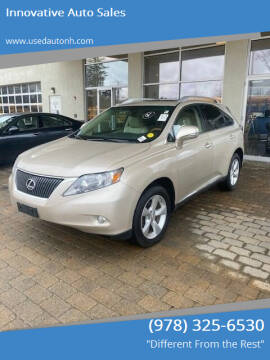 2011 Lexus RX 350 for sale at Innovative Auto Sales in North Hampton NH