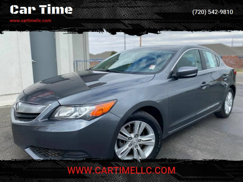 2013 Acura ILX for sale at Car Time in Denver CO