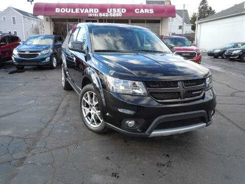 2018 Dodge Journey for sale at Boulevard Used Cars in Grand Haven MI
