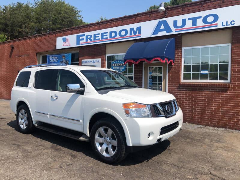 2011 Nissan Armada for sale at FREEDOM AUTO LLC in Wilkesboro NC