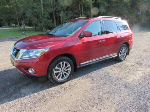 2016 Nissan Pathfinder for sale at DON'S AUTO WHOLESALE in Sheppton PA