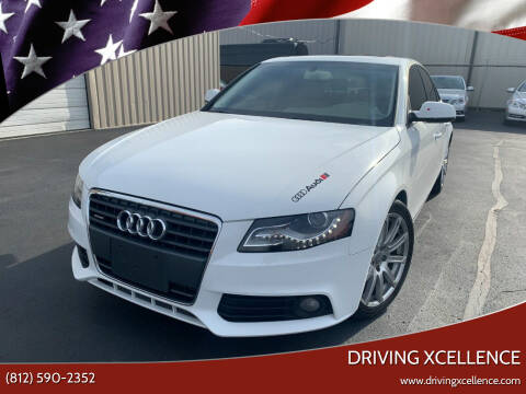 2010 Audi A4 for sale at Driving Xcellence in Jeffersonville IN