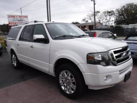 2011 Ford Expedition EL for sale at LEGACY MOTORS INC in New Port Richey FL