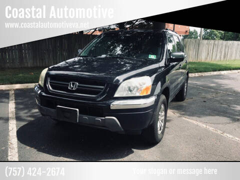 2005 Honda Pilot for sale at Coastal Automotive in Virginia Beach VA