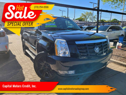2009 Cadillac Escalade for sale at Capital Motors Credit, Inc. in Chicago IL