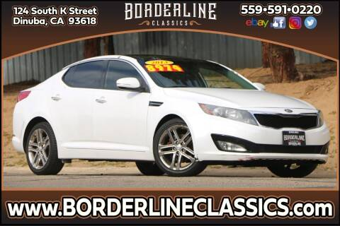 2013 Kia Optima for sale at Borderline Classics in Dinuba CA