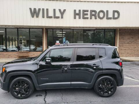 2018 Jeep Renegade for sale at Willy Herold Automotive in Columbus GA