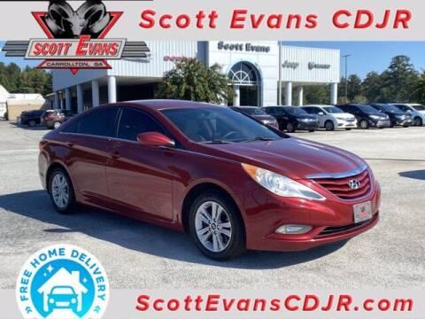 2013 Hyundai Sonata for sale at SCOTT EVANS CHRYSLER DODGE in Carrollton GA