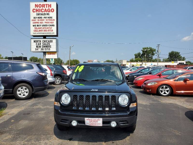 2014 Jeep Patriot for sale at North Chicago Car Sales Inc in Waukegan IL