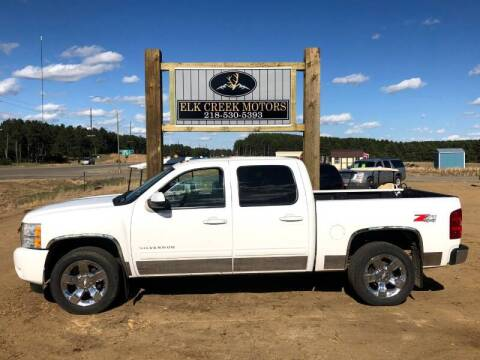 2011 Chevrolet Silverado 1500 for sale at Elk Creek Motors LLC in Park Rapids MN