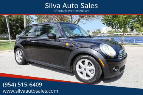 2009 MINI Cooper for sale at Silva Auto Sales in Pompano Beach FL