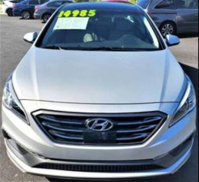 2016 Hyundai Sonata for sale at AMG Automotive Group in Cumming GA