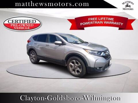 2017 Honda CR-V for sale at Auto Finance of Raleigh in Raleigh NC