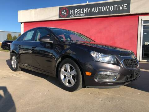 2016 Chevrolet Cruze Limited for sale at Hirschy Automotive in Fort Wayne IN