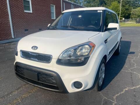 2012 Kia Soul for sale at El Camino Auto Sales Gainesville in Gainesville GA
